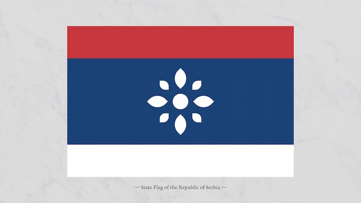 Graphic designer creates new visual identity for Serbia