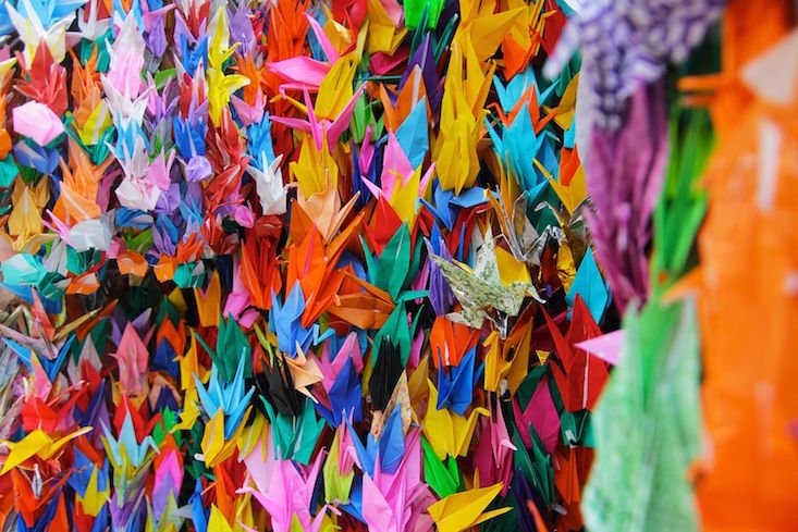 Discover the intricate origami that helped one Romanian artist take on depression