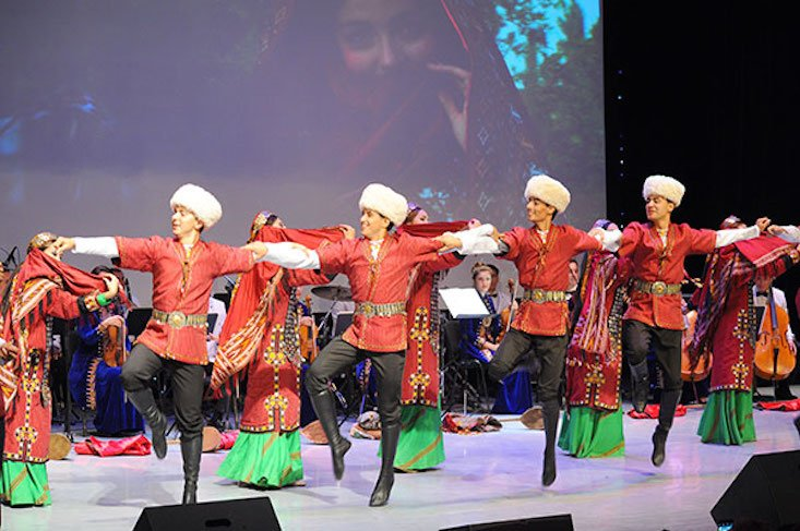 Turkmen culture arrives in Russia