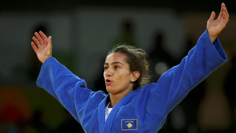 Kosovo wins first Olympic medal