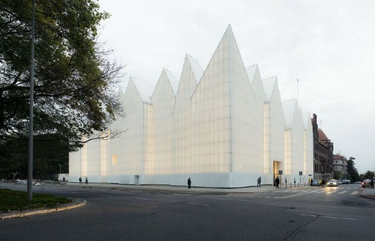 Polish concert hall nominated for Designs of the Year Awards