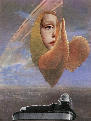 This Belarusian collagist creates dreams out of reality