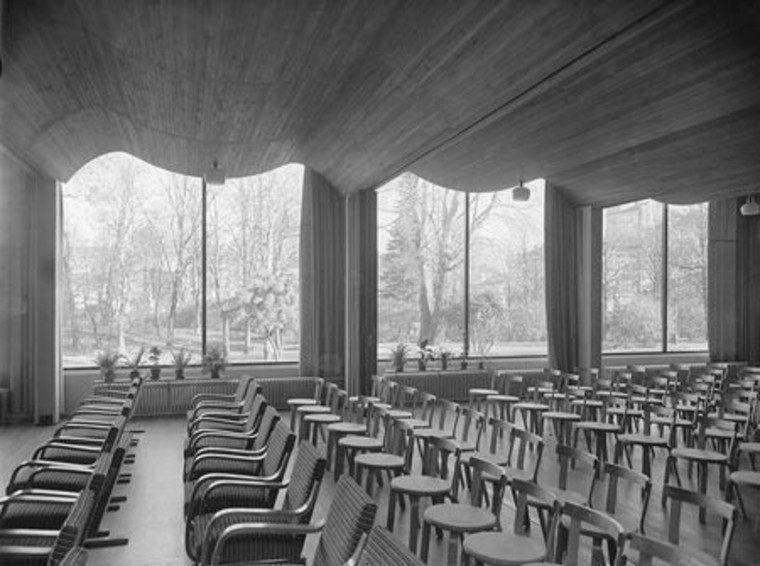 Iconic Alvar Aalto library opens after two-year revamp