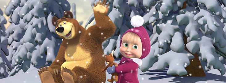 Masha and the Bear episode is first Russian-language video to reach a billion YouTube views