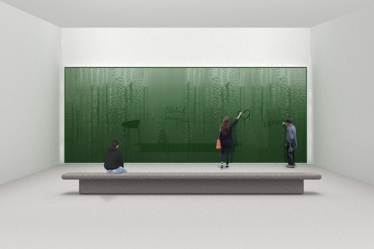 Digital condensation: Latvian installation unveiled for London Design Biennale 2018