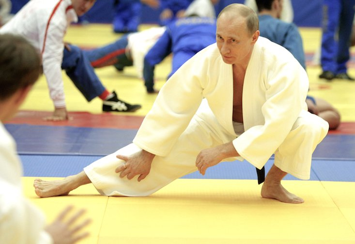 Russian President Vladimir Putin revealed as Soviet stunt actor