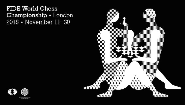 Moscow design studio creates a sexy new logo for World Chess Championship
