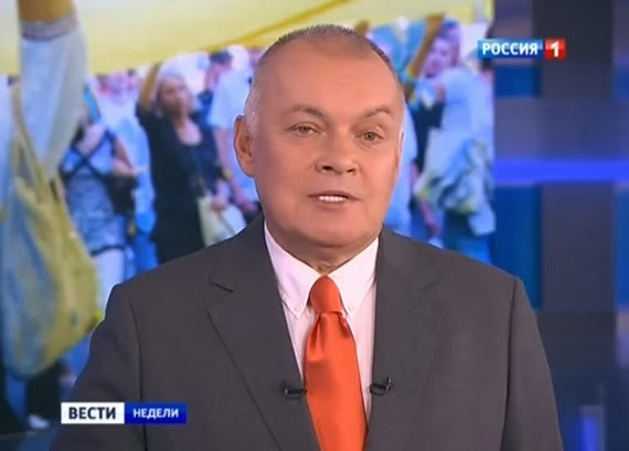 News channel Russia 1 publishes open letter in support of sanctioned pro-Kremlin journalist Kiselyov
