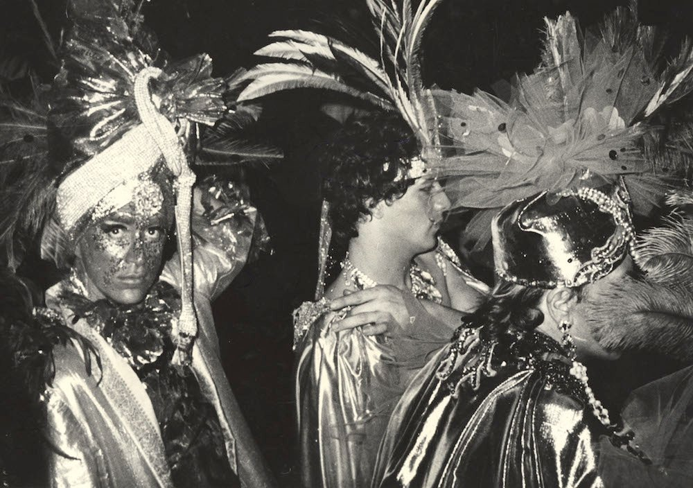 Masked Men Entering Club (early 1980s)