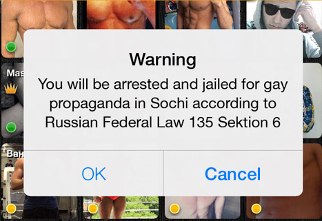 Hackers attack gay Russian dating app
