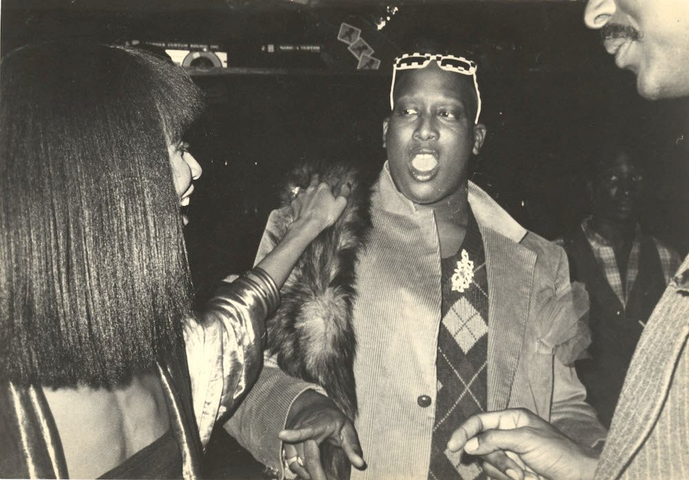 Vogue's Andre Leon Talley, Studio 54