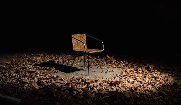 Beleaf: Slovakian designer turns fallen leaves into eco-chair
