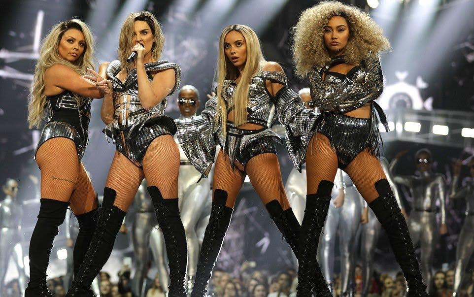 UK girl group Little Mix open Brit Awards in Croatian-designed outfits