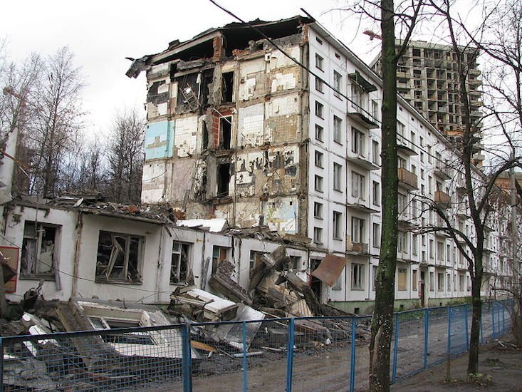 1.6 million to be rehoused in huge Moscow demolition project