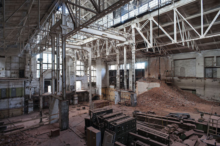 Geometry of now: Moscow power station hosts investigation in sound
