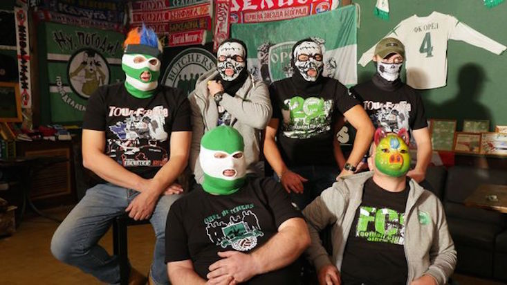 BBC documentary explores Russia's football fan culture