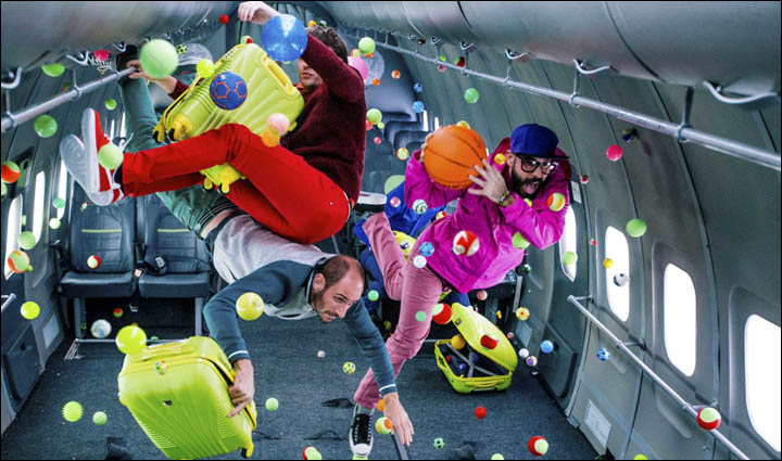 S7 Airlines x OK Go music video nominated for GRAMMY