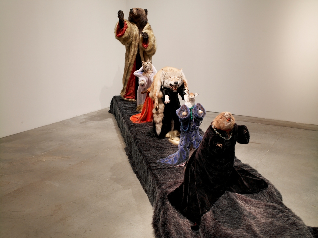 Dmitry Tsvetkov, from his Ice Age installation (2008-2009)