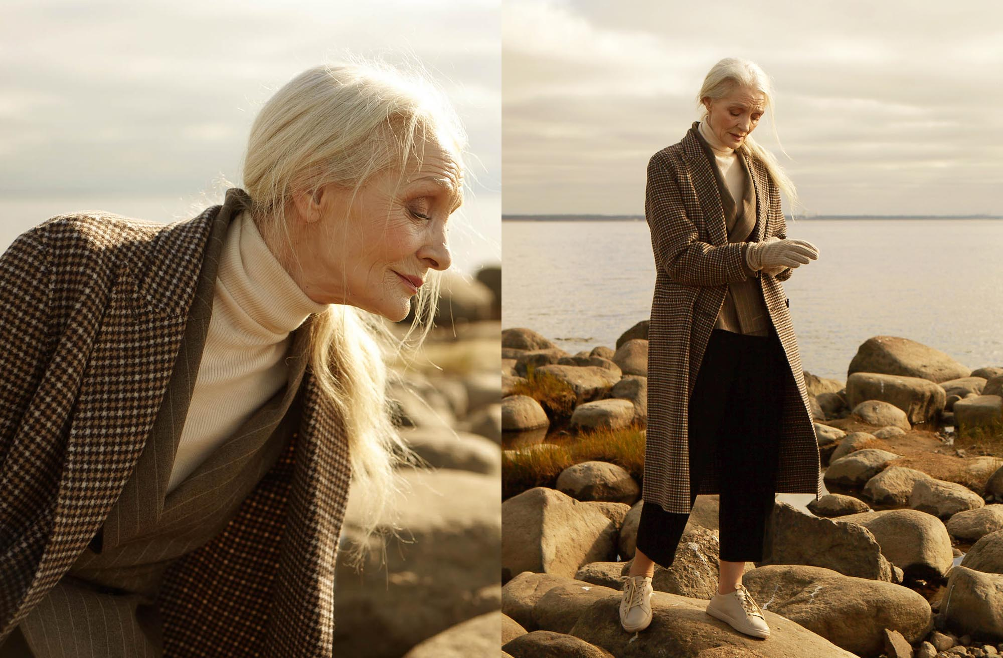 Meet the 62-year-old muse of Russian label 12Storeez's new lookbook