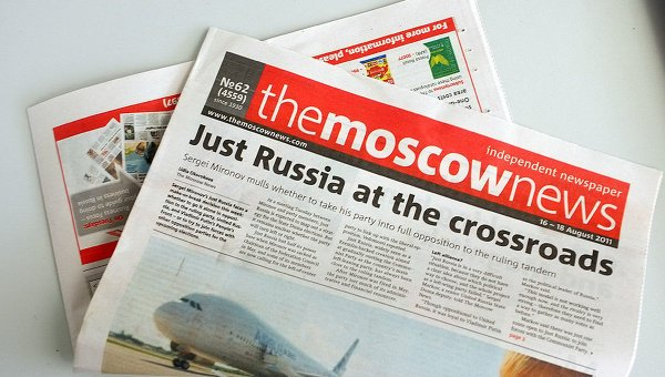 The Moscow News ends print edition