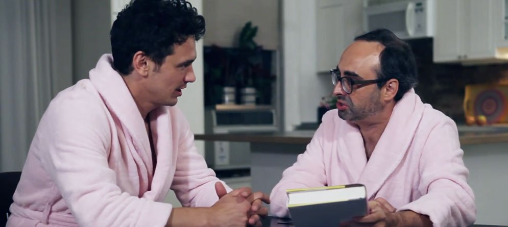 James Franco and Gary Shteyngart star in book trailer for Little Failure