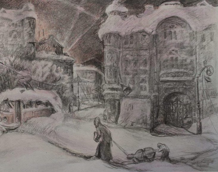 Art and endurance: glimpse the everyday life of the siege of Leningrad