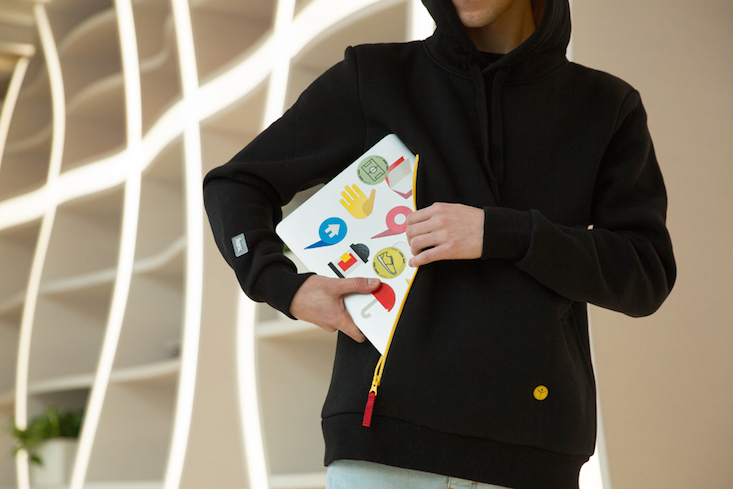 Laptop bags are a thing of the past with Yandex's new hoodie range