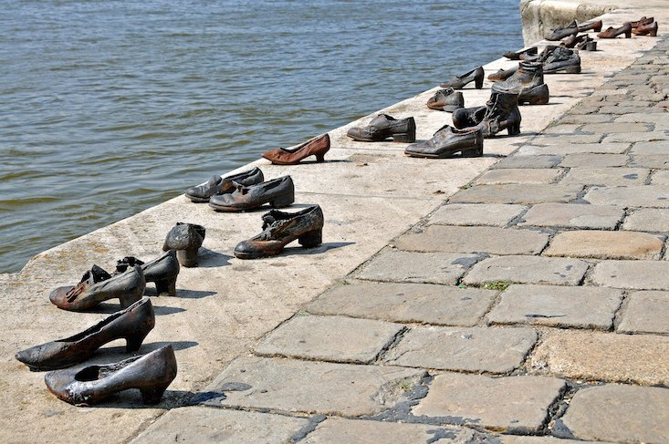 Budapest's Shoes On The Danube Bank among most fascinating public sculptures