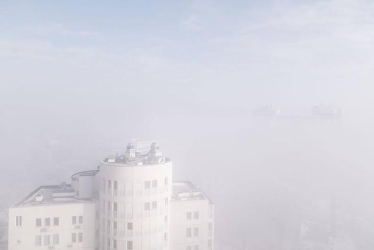 Kiev blanketed in layer of toxic smog… or is it fog?