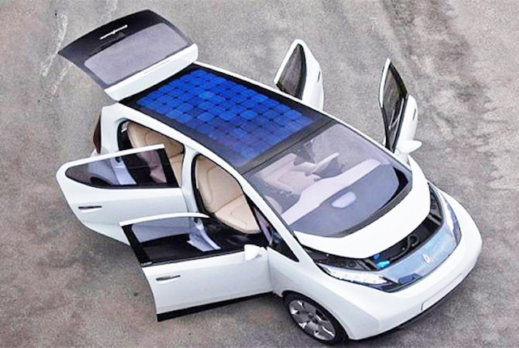 Armenia to launch country's first solar-powered car