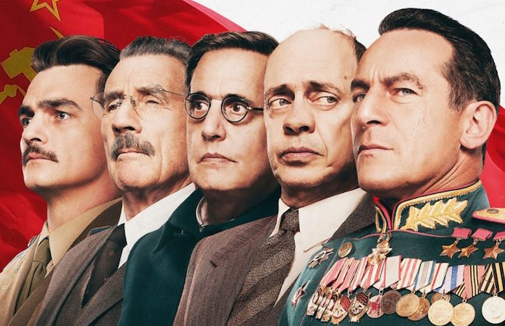 Moscow cinema forced to halt screening The Death of Stalin after police raid