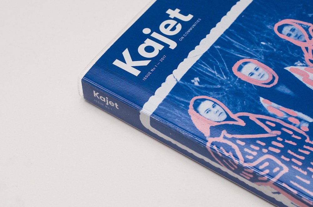 Edition #1 of Kajet. Design by Alice Stoicescu