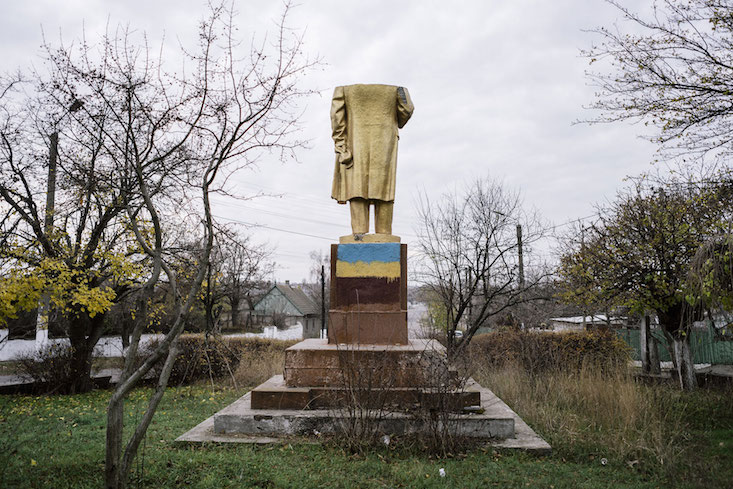 Looking for Lenin in Ukraine: new photo exhibition opens in Newcastle