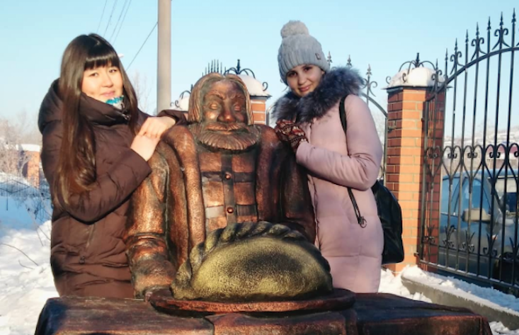 Russian town unveils monument to the humble Siberian dumpling
