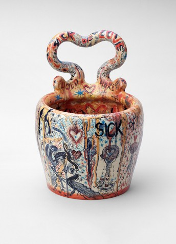 Sick Of Love This Polish Artist Is Creating Vomit Vases For Your