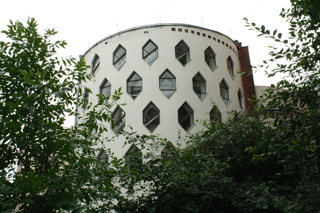 Melnikov House. Photograph: Raisin Detre under a CC licence