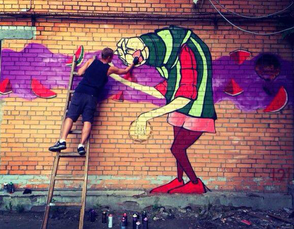 First legal graffiti wall opens in Moscow