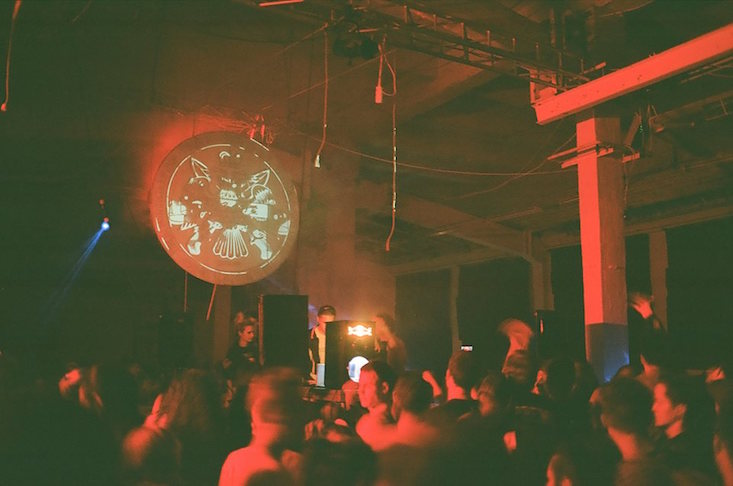 Party on: day rave at Moscow International Biennale for Young Art