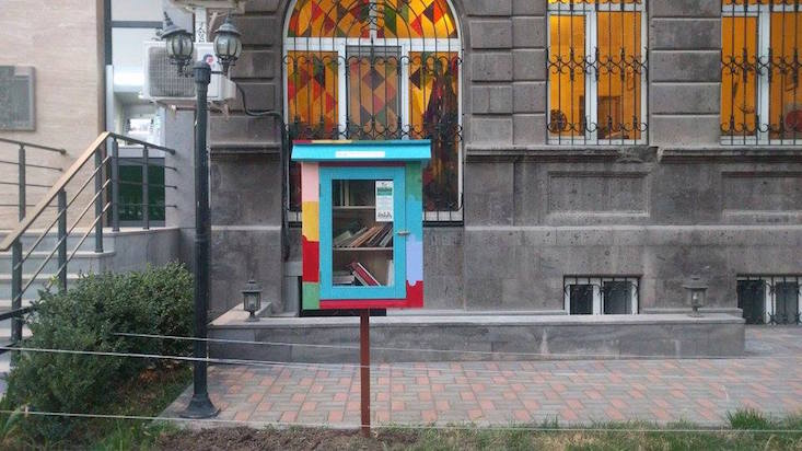 Calling all bookworms: Little Free Libraries launch in Armenia