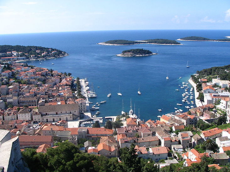 Croatian island of Hvar named among world's top ten