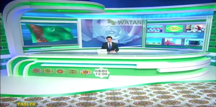 Turkmenistan looks to lure viewers with self-sustaining national TV