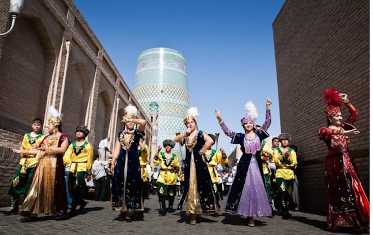 The magic of dance comes to historic Uzbek city