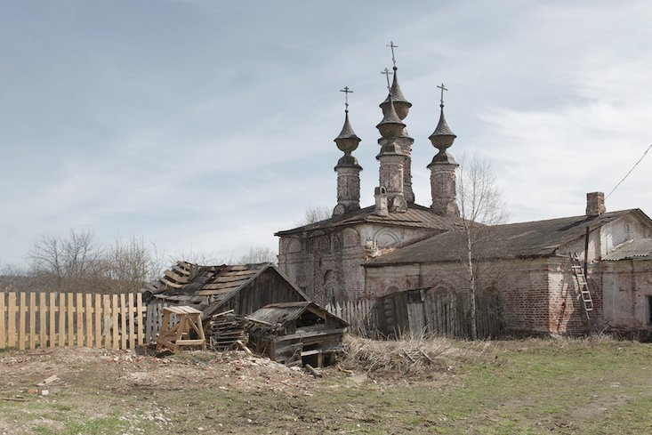 Epiphany Church, Soligalich, Kostroma region. Image: Alexander Karelin