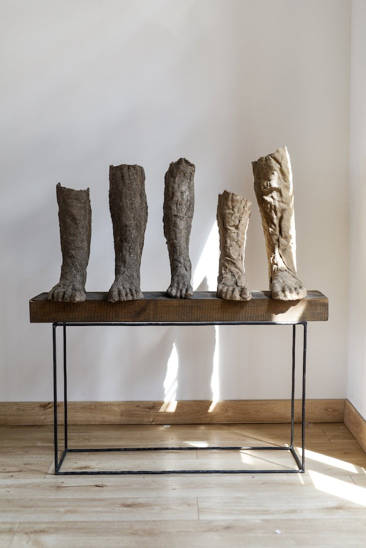 Installation view of Effigies of Life, A Tribute to Magdalena Abakanowicz in  Wrocław, Poland. Image courtesy of the artist's estate