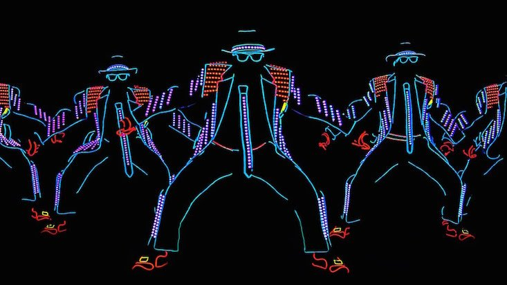Light balance: Ukrainian dance group shines on America's Got Talent