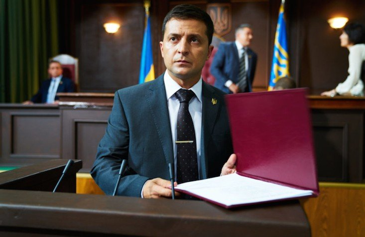 Ukrainian President signs TV language quota into law, but Soviet films escape scot-free