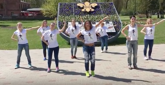 Meet the Latvian zumba teacher dancing her way into politics
