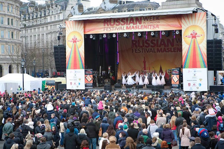Maslenitsa Russian culture festival opens in London
