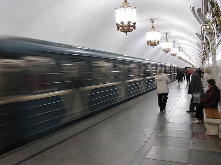 Moscow metro to launch Year of Cinema train