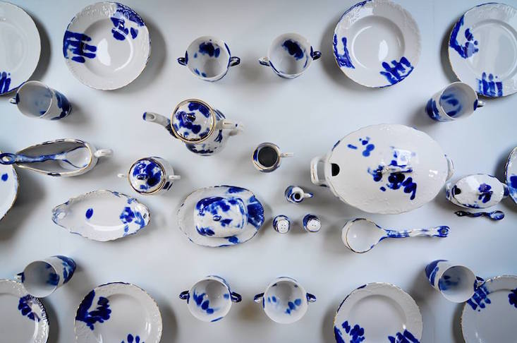 The human trace: traditional Polish porcelain puts the focus on people